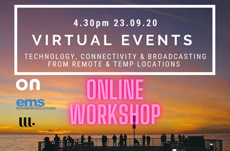 Watch our Virtual Event Webinar