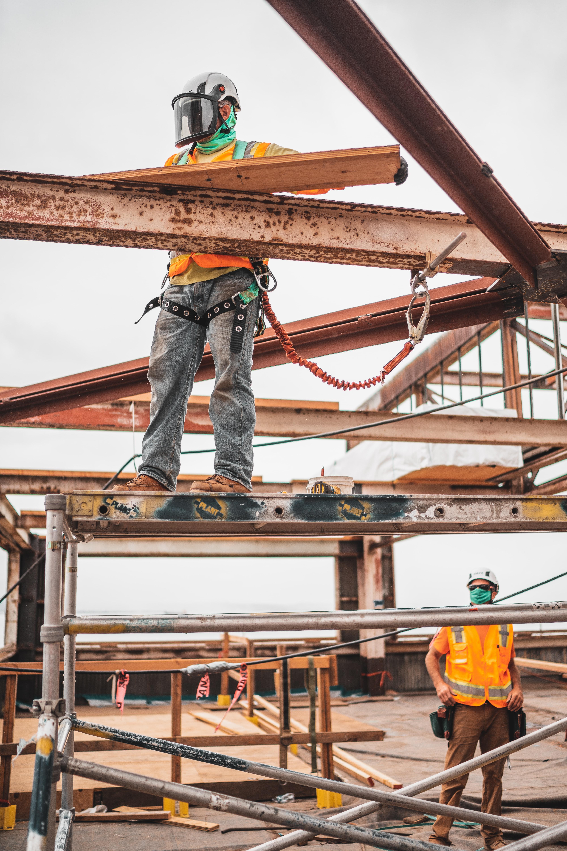COVID in Construction Photo Credit Jeriden Villegas